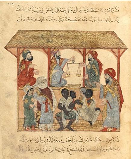 Marché aux esclaves au Yémen, XIIIe siècle