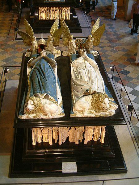 Tombeau de Jean sans Peur et Marguerite de Bavière