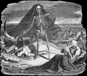La mort et le mourant de la Fontaine
