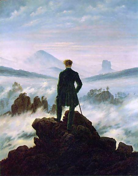 le voyageur contemplant une mer de nuages