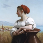 la moissonneuse de bouguereau